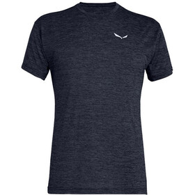SALEWA Puez Melange Dry Koszulka z krótkim rękawem Mężczyźni, premium navy melange